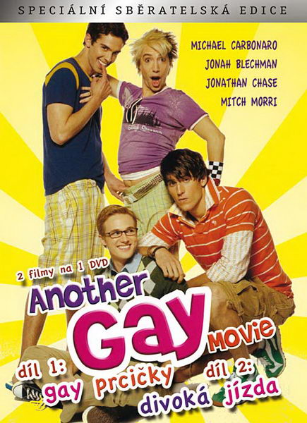 DVD - Another Gay Movie 1+2