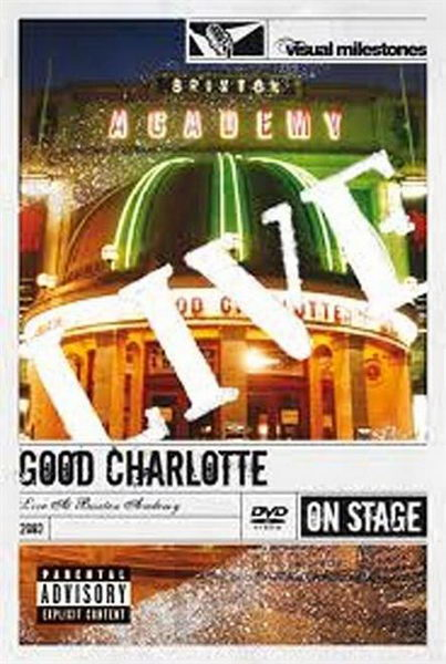 DVD - Good Charlotte: Live At Brixton Academy