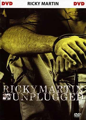 DVD - Ricky Martin: MTV Unplugged