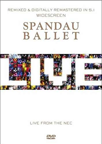 DVD - Spandau Ballet: Live from The N.E.C.